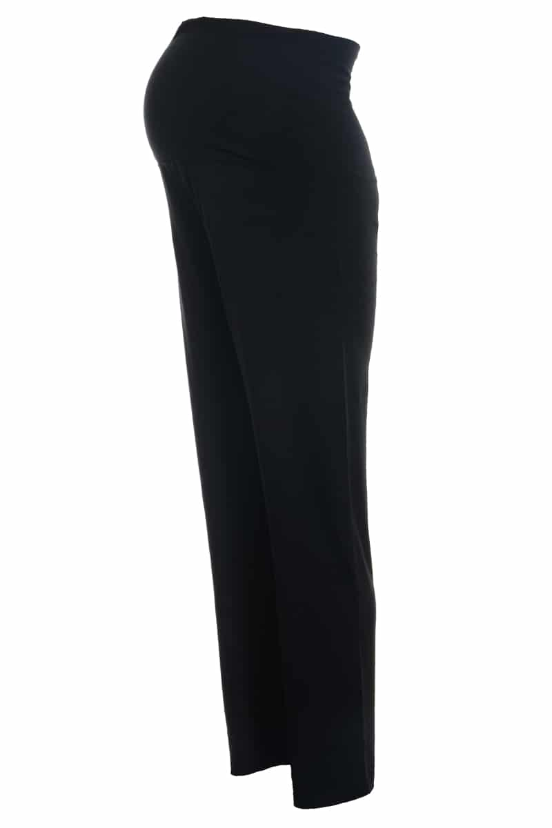 Maternity Yoga Pants - Side View - Over Bump