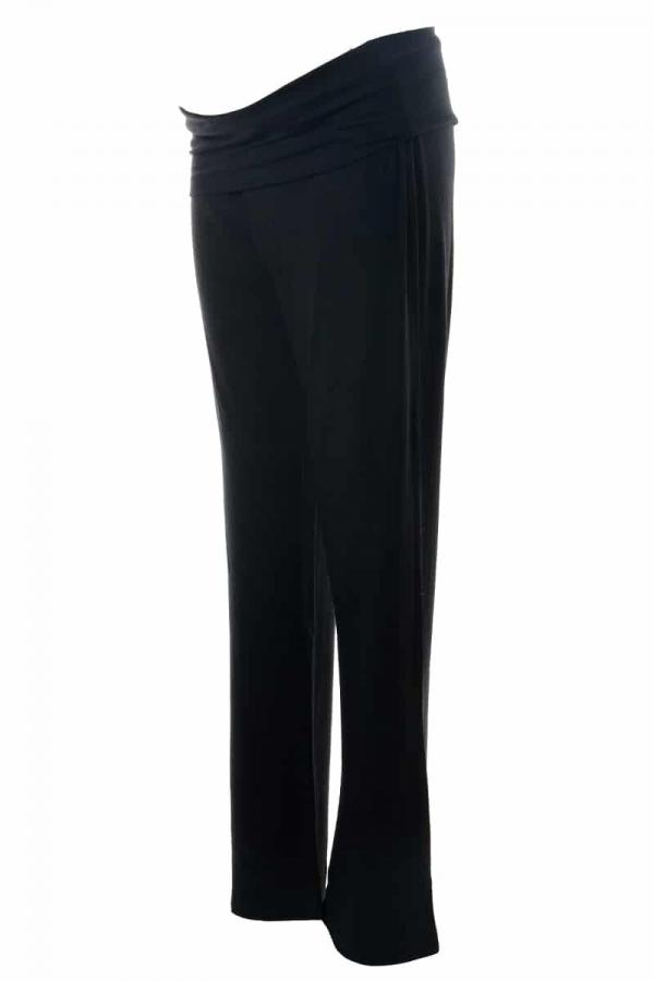 Maternity Yoga Pants - Side View - Under Bump
