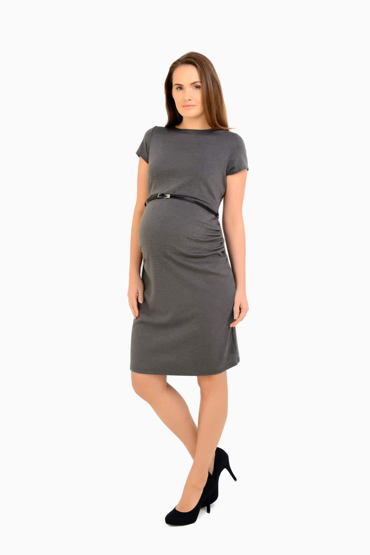 Maternity Shift Dress - Ideal for Work/ Office