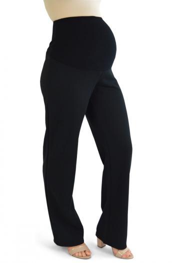 Black Bootcut Trousers