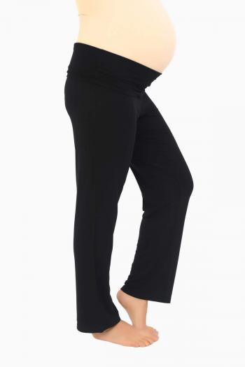 Black Maternity Yoga Pants