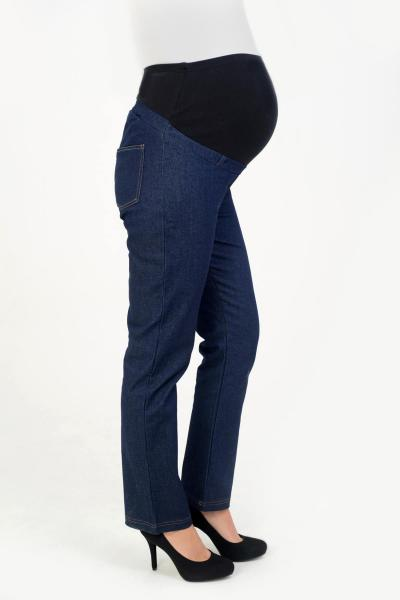 Stretch Maternity Straight Leg Jeans