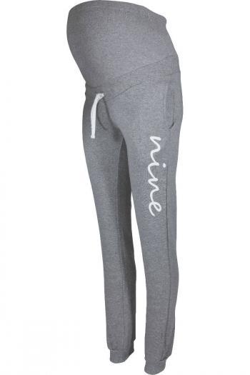 Maternity Jogging Trouser Bottoms - Grey