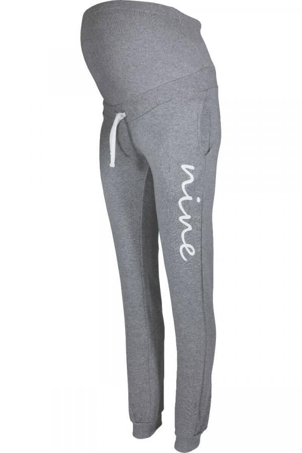 Maternity Jogging Trouser Bottoms - Grey