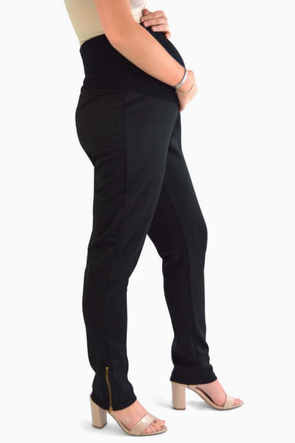 Maternity Trousers with Ankle Zips