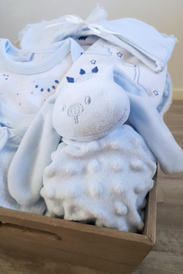 New Baby Boy Present Gift Box