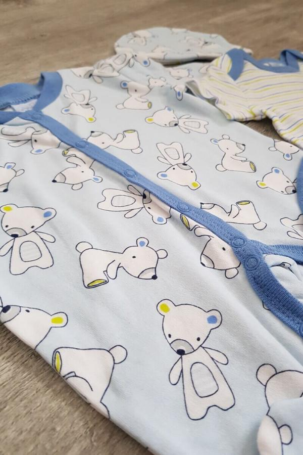 Blue Baby Bear 5 Piece Set