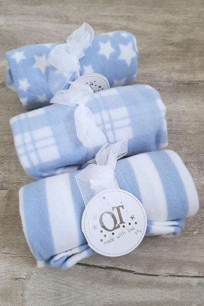 Blue Baby Blanket Assortment