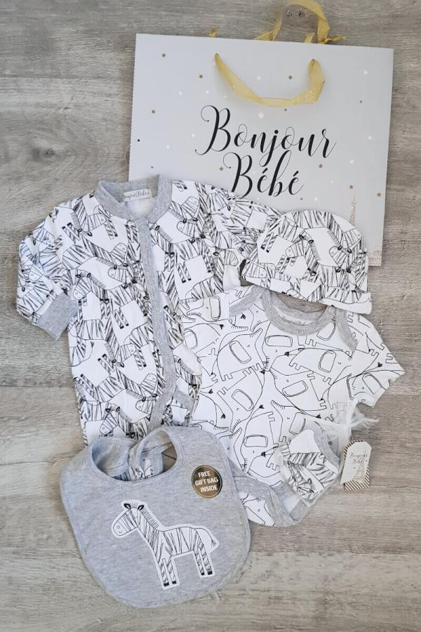 Bonjour Bebe 5 Piece Baby Set