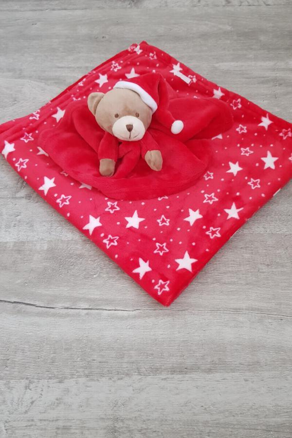Baby Christmas Comforter & Blanket Gift Set