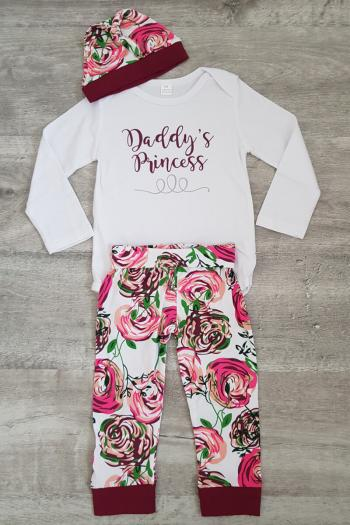 Daddy's Little Princess 3 Piece Gift Set