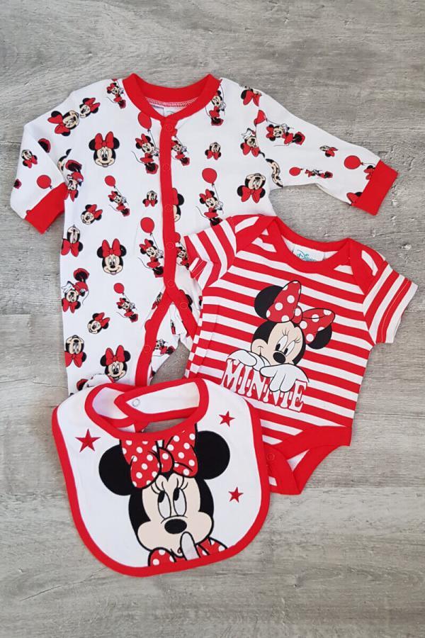 Disney Minnie Mouse 3 Piece Baby Set