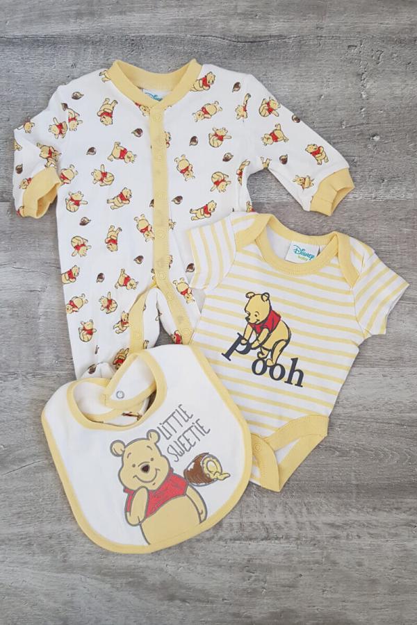 "Disney Winnie The Pooh ""Little Sweetie"" 3 Piece Baby Set"