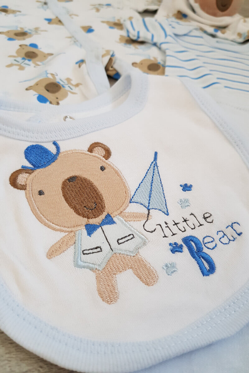 Little Baby Bear 6 Piece Set with Comforter