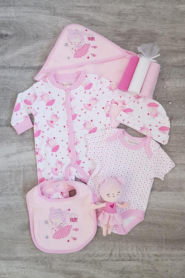 """Little Fairy"" 7 Piece Baby Set"