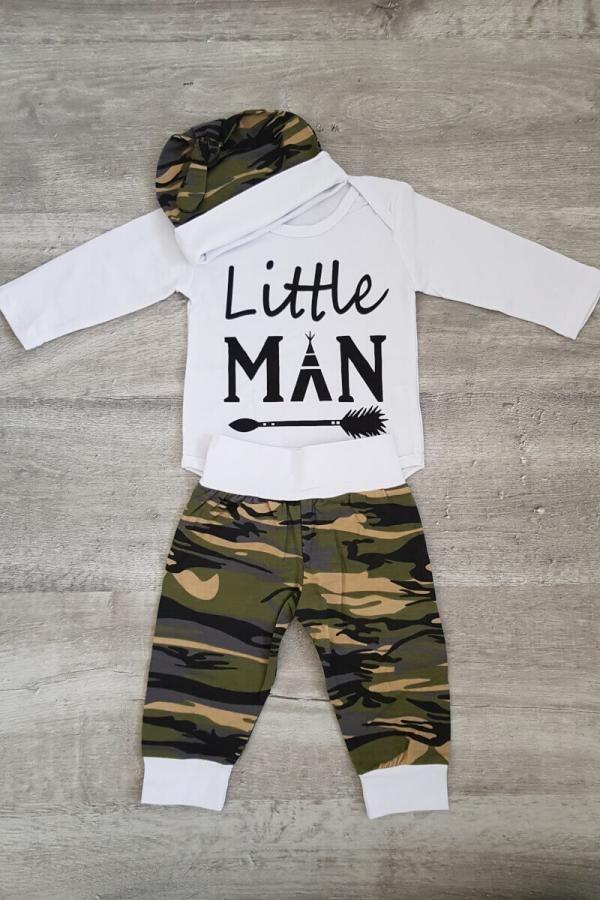 Baby Little Man 3 Piece Set