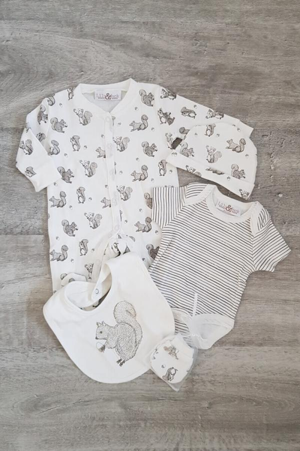 Baby Squirrel 5 Piece Set