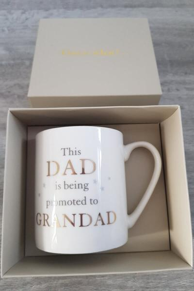 Grandparent Gift Mug: New Grandad