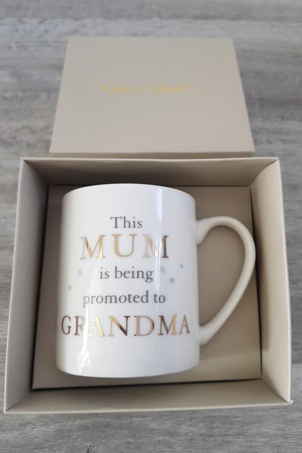 Grandparent Gift Mug: New Grandma Nanny