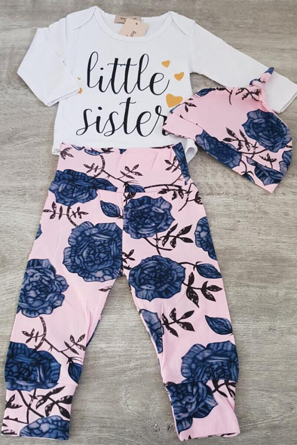 Little Sister 3 Piece Baby Set