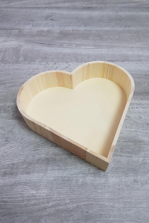 Wooden Heart Gift Box