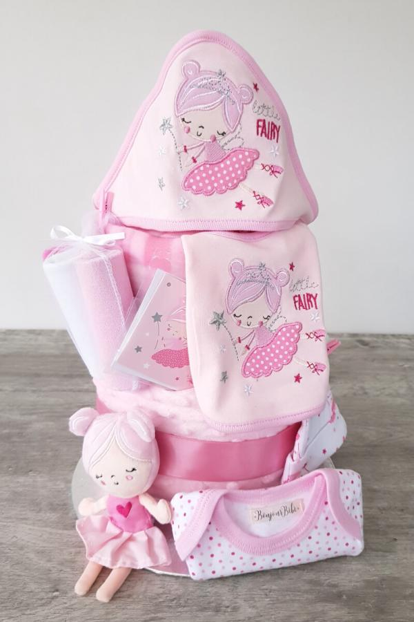 Pink Fairy Celebration Gift Cake