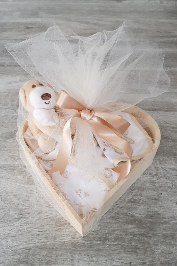 Little Bear Heart Box Gift Hamper