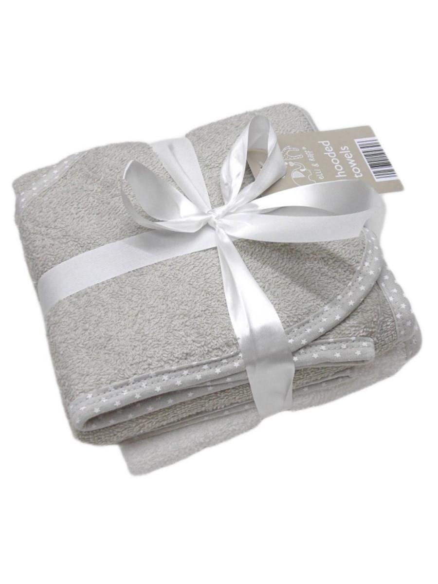 ELLI & RAFF HOODEL TOWELS (2PK)