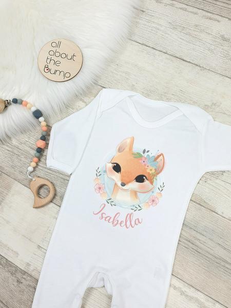 Orange Fox with Name