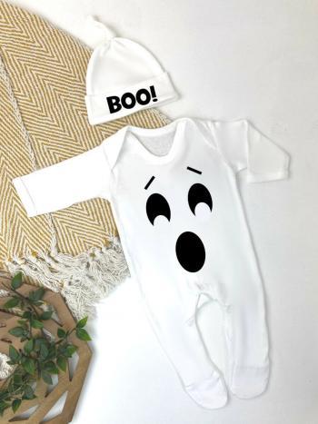 Halloween Boo Ghost Babygrow