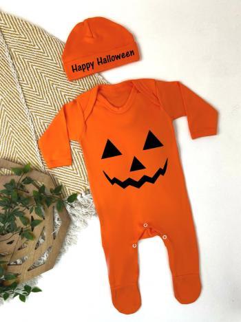 Pumpkin Halloween Babygrow