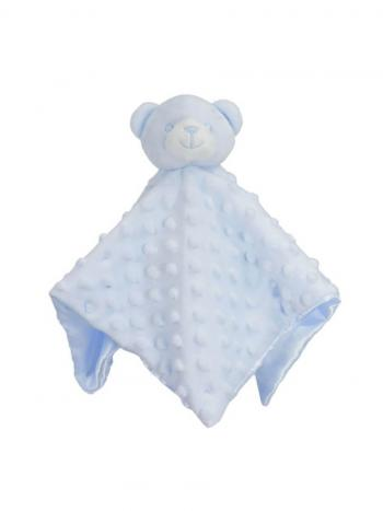 Little Bear Baby Comforter in Blue