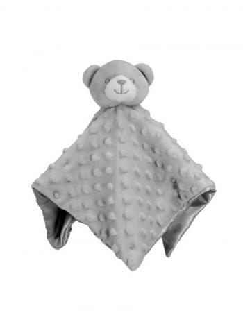 Little Bear Baby Comforter in Grey