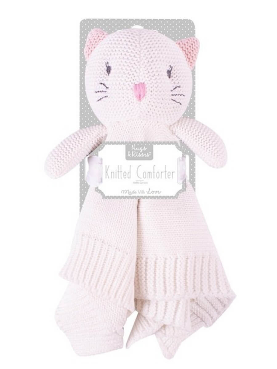 Knitted Cat Comforter