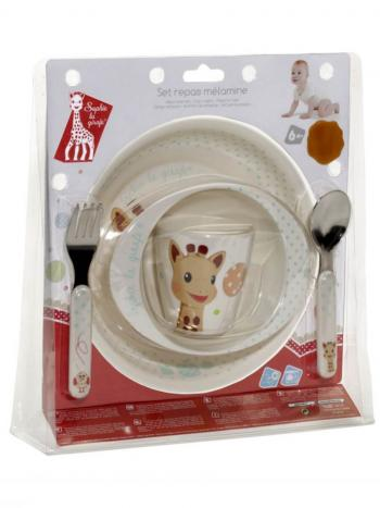 Sophie the Giraffe Mealtime Set - Balloon