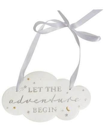 Plaque - Let the adventure begin