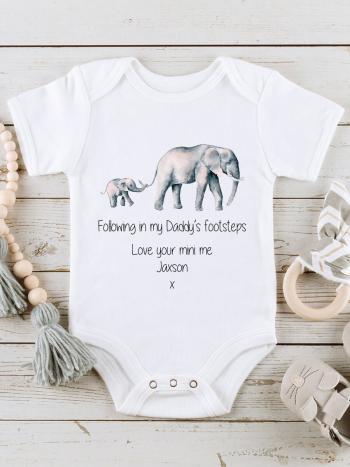 Fathers Day Elephant Footsteps FD-ELEFOOTSTEP