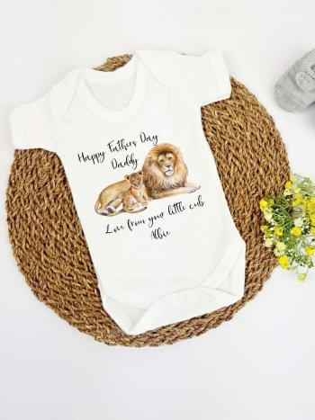 Fathers Day Lion and Cub FD-LIONCUB