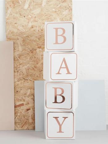 BABY BLOCKS 4PK (HELLO LITTLE ONE)