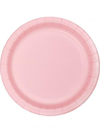 Celebrations Value Paper Dinner Plates Classic Pink