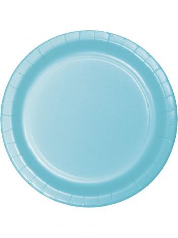 Celebrations Value Paper Dinner Plates Pastel Blue