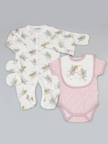 Little Fairies 5 Piece Baby Clothing Set